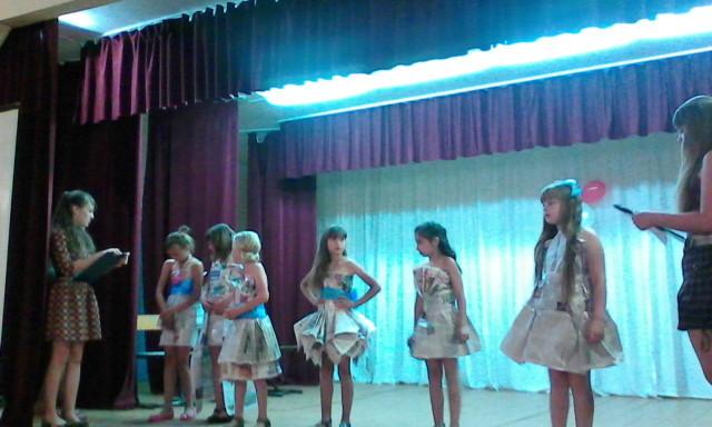 Конкурсы для мисс лагеря в школе